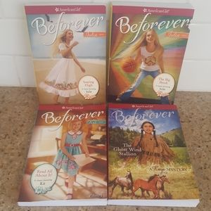 American Girl Beforever Books Lot 4